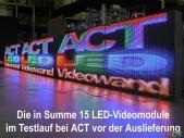 LED-Werbeplakat