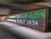 LED-Börsenkursanzeiger