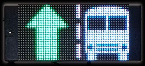 LED-Fahrspuranzeigen