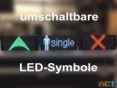 umschaltbare LED-Symbole