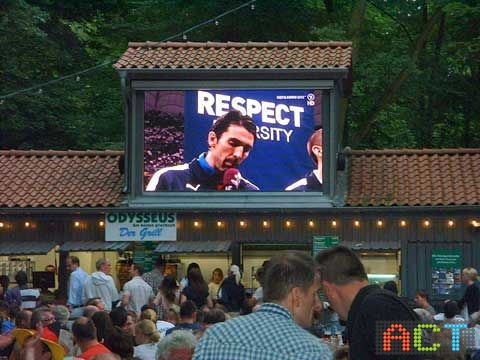 LED Videowand für Public Viewing