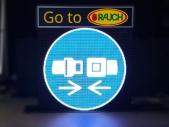 LED-Videodisplay-fuer-die-LKW-Abfertigung