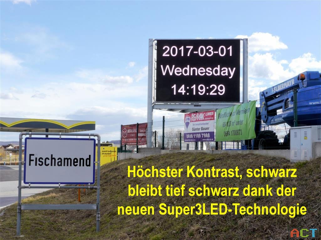 Outdoor LED-Videowall