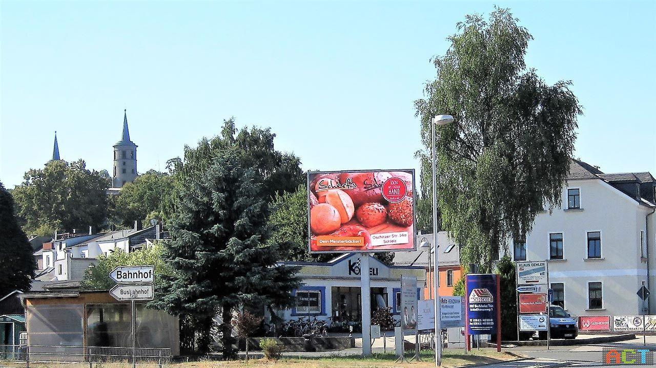 LED Outdoor-Werbedisplay