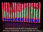 Schmale-Led-Videoscreens