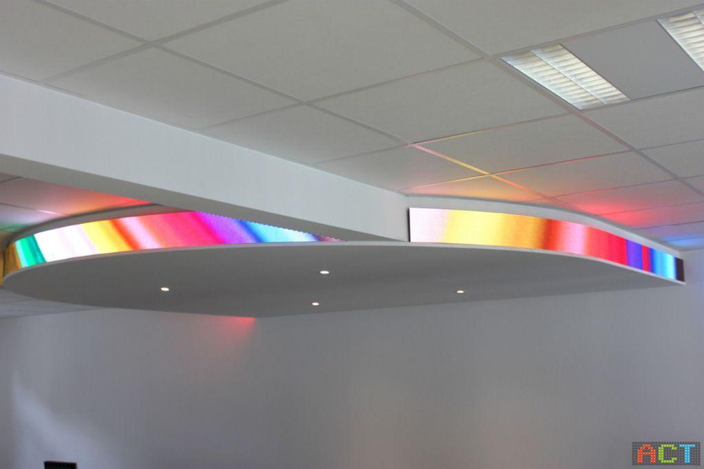 hochauflösende-LED-Anzeige