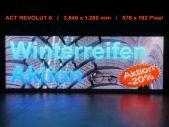 Videowall Werbeschild