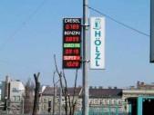 Tankstellenpreisanzeige