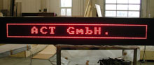 Grafikfähige LED-Anzeige
