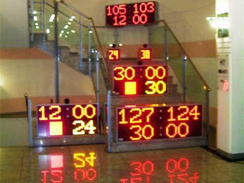 LED-Sportanzeigetafeln
