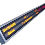Mehrzeiliges LED-Display