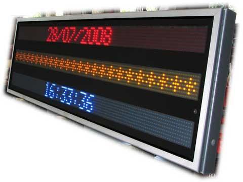 Dreifarbiges LED-Display