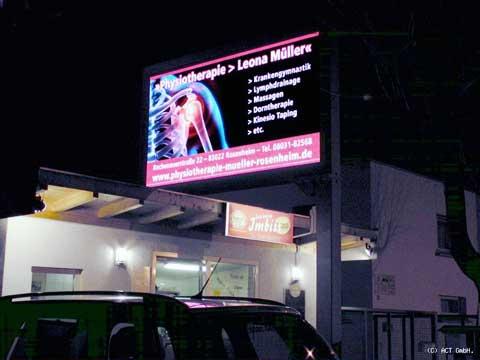 LED-Reklametafel