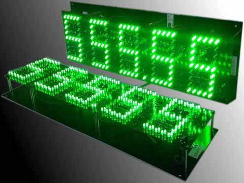LED-Zimmerpreis-Schild