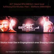 Videowall-im-Shop