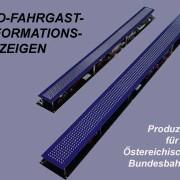Led-Fahrgast-Informationsanzeigen