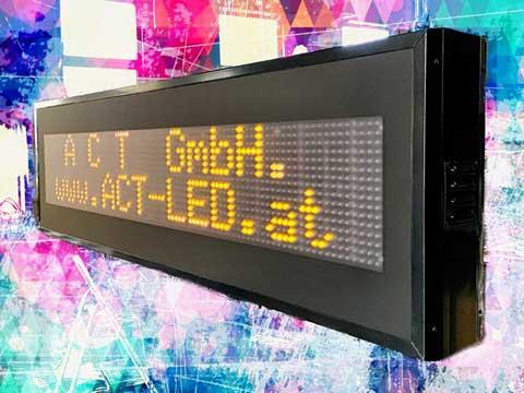 Zweizeile LED-Anzeige