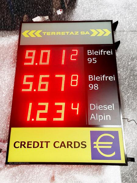 Digitales Preisschild