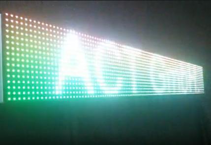 Gebrauchte Outdoor LED-Laufschriften