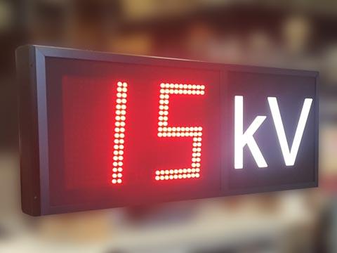 LED-Anzeigen mit Umschaltkontakte